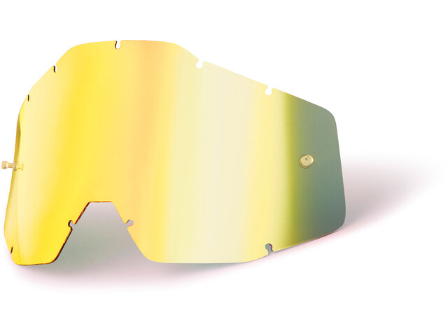 100% Replacement Lenses Youth, gold / mirror